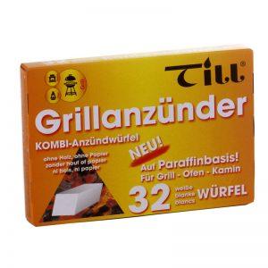 Till Grill- und Kaminanzündwürfel 32er