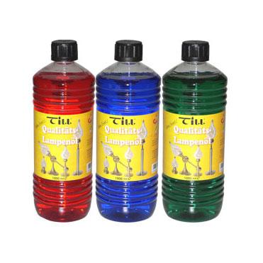 Till Qualitäts-Lampenöl farbig sortiert
