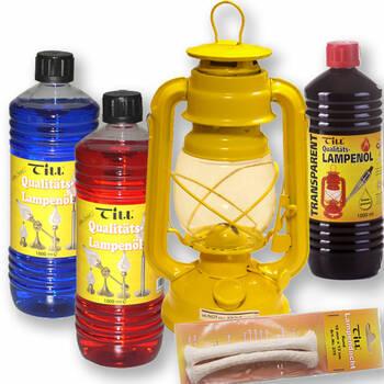 Öllampen und Lampenöl